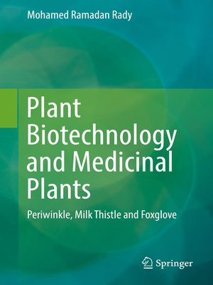 cover image of Plant Biotechnology and Medicinal Plants