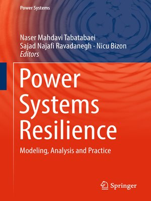 cover image of Power Systems Resilience