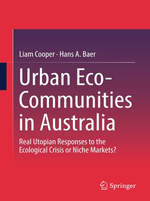 cover image of Urban Eco-Communities in Australia