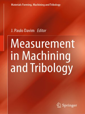 cover image of Measurement in Machining and Tribology