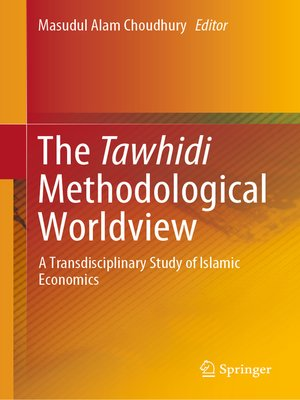 cover image of The Tawhidi Methodological Worldview