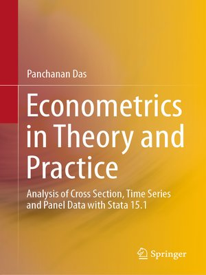 cover image of Econometrics in Theory and Practice