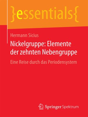 cover image of Nickelgruppe