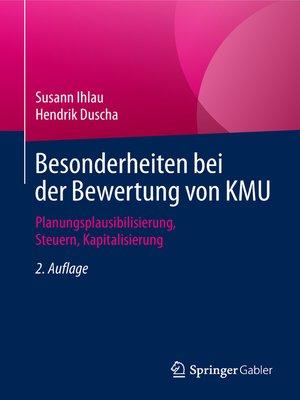 cover image of Besonderheiten bei der Bewertung von KMU