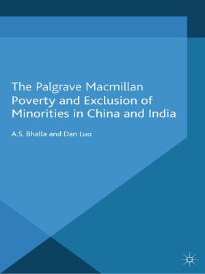 cover image of Poverty and Exclusion of Minorities in China and India