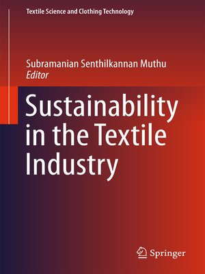 cover image of Sustainability in the Textile Industry