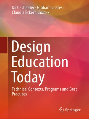 cover image of Design Education Today