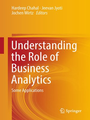 cover image of Understanding the Role of Business Analytics