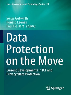 cover image of Data Protection on the Move