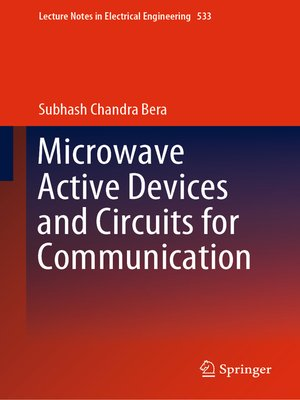 cover image of Microwave Active Devices and Circuits for Communication