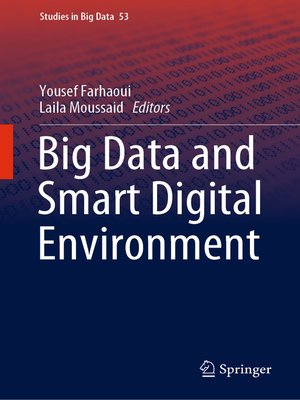 cover image of Big Data and Smart Digital Environment