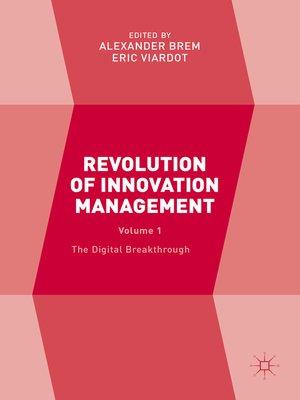 cover image of Revolution of Innovation Management, Volume 1