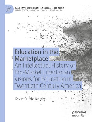 cover image of Education in the Marketplace