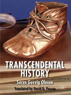 cover image of Transcendental History