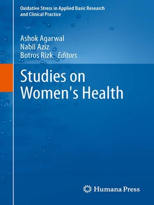 cover image of Studies on Women's Health
