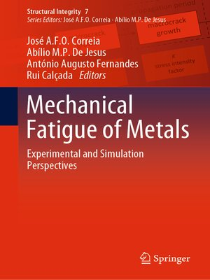 cover image of Mechanical Fatigue of Metals