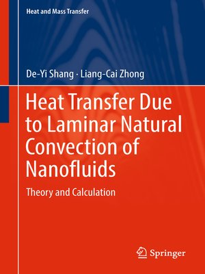 cover image of Heat Transfer Due to Laminar Natural Convection of Nanofluids
