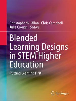 cover image of Blended Learning Designs in STEM Higher Education