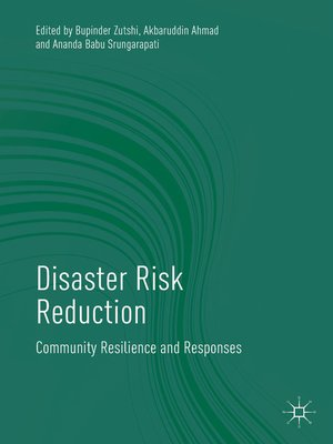 cover image of Disaster Risk Reduction