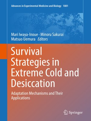 cover image of Survival Strategies in Extreme Cold and Desiccation