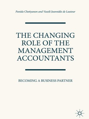 cover image of The Changing Role of the Management Accountants