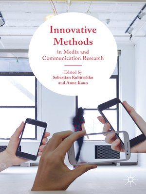 cover image of Innovative Methods in Media and Communication Research