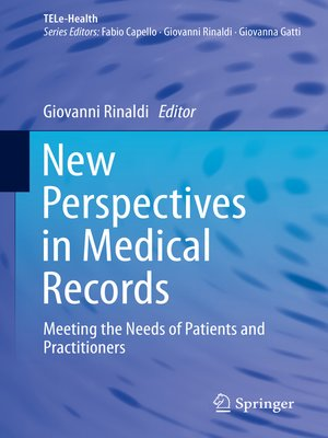 cover image of New Perspectives in Medical Records