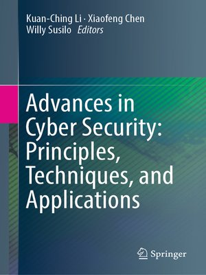 cover image of Advances in Cyber Security