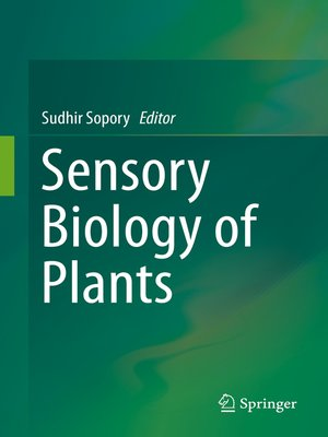 cover image of Sensory Biology of Plants