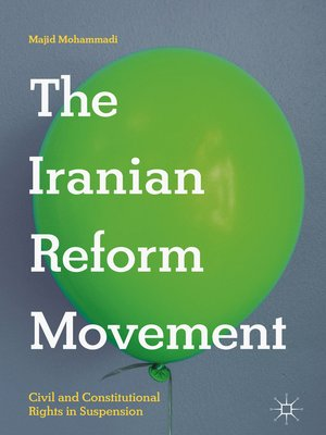 cover image of The Iranian Reform Movement