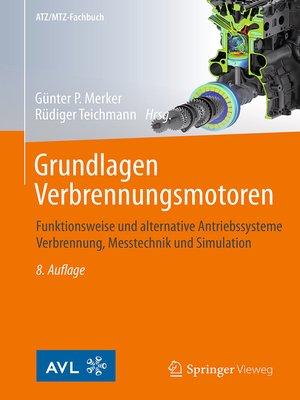 cover image of Grundlagen Verbrennungsmotoren
