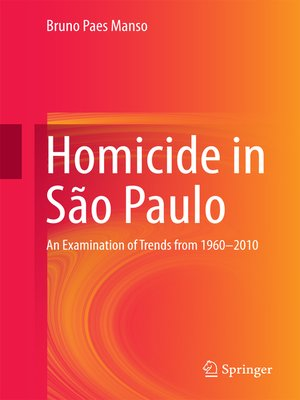 cover image of Homicide in São Paulo
