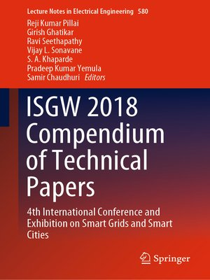 cover image of ISGW 2018 Compendium of Technical Papers
