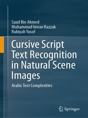cover image of Cursive Script Text Recognition in Natural Scene Images
