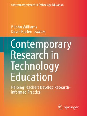 cover image of Contemporary Research in Technology Education