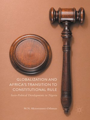 cover image of Globalization and Africa's Transition to Constitutional Rule