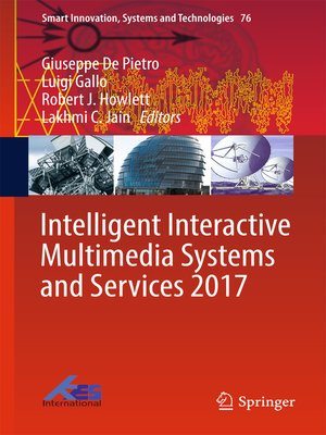cover image of Intelligent Interactive Multimedia Systems and Services 2017