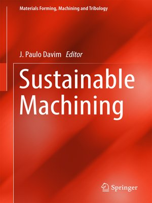 cover image of Sustainable Machining