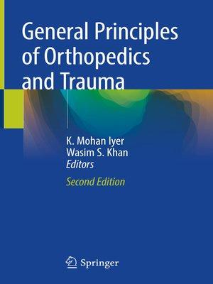 cover image of General Principles of Orthopedics and Trauma