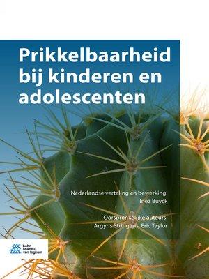 cover image of Prikkelbaarheid bij kinderen en adolescenten