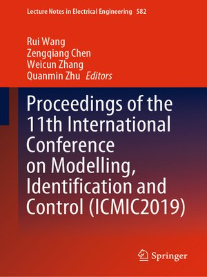 cover image of Proceedings of the 11th International Conference on Modelling, Identification and Control (ICMIC2019)