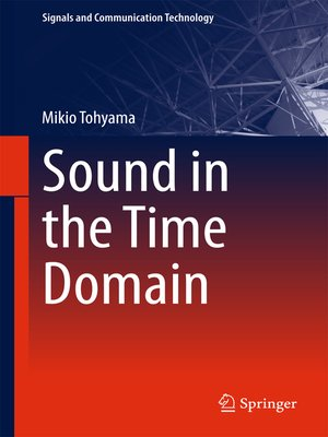 cover image of Sound in the Time Domain