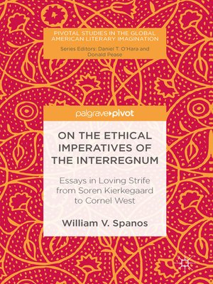 cover image of On the Ethical Imperatives of the Interregnum