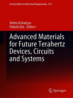 cover image of Advanced Materials for Future Terahertz Devices, Circuits and Systems