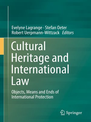 cover image of Cultural Heritage and International Law