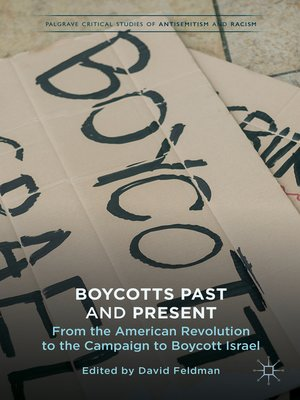 cover image of Boycotts Past and Present