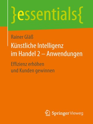 cover image of Künstliche Intelligenz im Handel 2 – Anwendungen