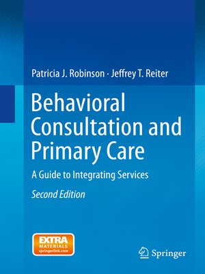 cover image of Behavioral Consultation and Primary Care