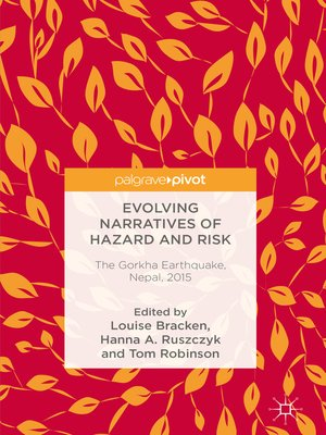 cover image of Evolving Narratives of Hazard and Risk