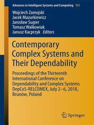cover image of Contemporary Complex Systems and Their Dependability